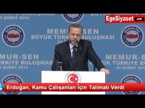 Erdoğan, Kamu Çalışanlarının Yüzünü Güldürecek Talimatı Verdi