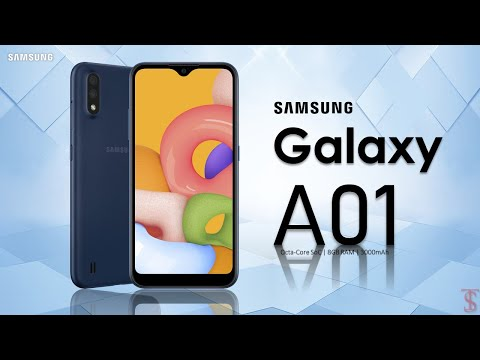 Samsung Galaxy A01 First Look, Design, Trailer, Specifications, 8GB RAM, Camera, Features