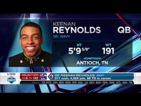 Keenan Reynolds is just the 4th player to have his number retired ...
