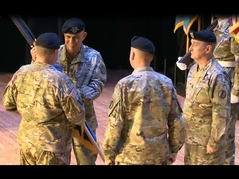U.S. Army Training and Doctrine Command change of command ceremony