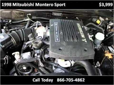 1998 Mitsubishi Montero Sport Used Cars Manas VA - YouTube