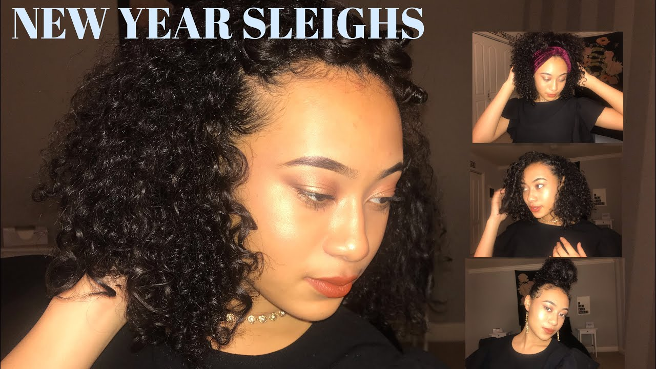 15 Baddie Holiday Hairstyles for Curly Hair ♕ That's so Rachel