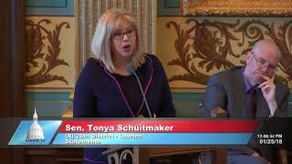 Sen. Schuitmaker stands up for the victims of Dr. Larry Nassar