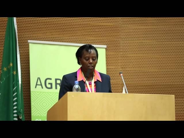 AGRF 2014   Jane Karuku, AGRA President -  Opening Remarks