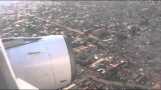 Aterrando em Luanda