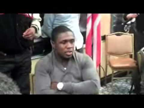 Andre Berto Interview for Ortiz Berto II