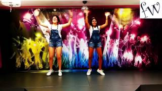 coreografía danza kuduro fantasyworld elche