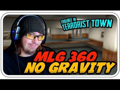 MLG 360 NO GRAVITY - TROUBLE IN TERRORIST TOWN #733 - Let's Play TTT - Dhalucard