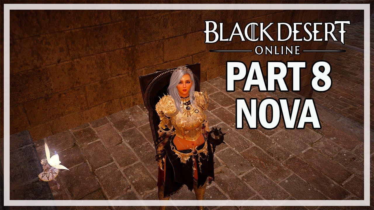 Black Desert Online Nova Let S Play Part 8 Finishing Calpheon Season 3 Youtube