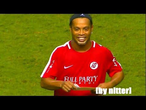 Ronaldinho Football Skills Show 2017 en Costa Rica [by nitter]