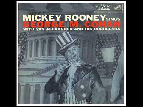 MICKEY ROONEY SINGS GEORGE M. COHAN (Full Album - 1957)