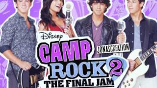 Tear It Down - Mdot and Meaghan Martin - Camp Rock 2 (Full song / Lyrics)