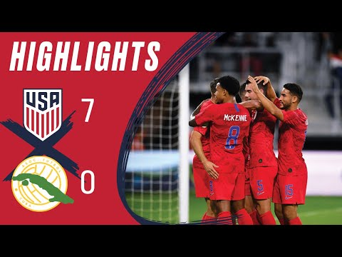 USA 7-0 CUBA Concacaf Nations League Highlights | Oct. 11, 2019 | Washington, D.C. - Audi Field