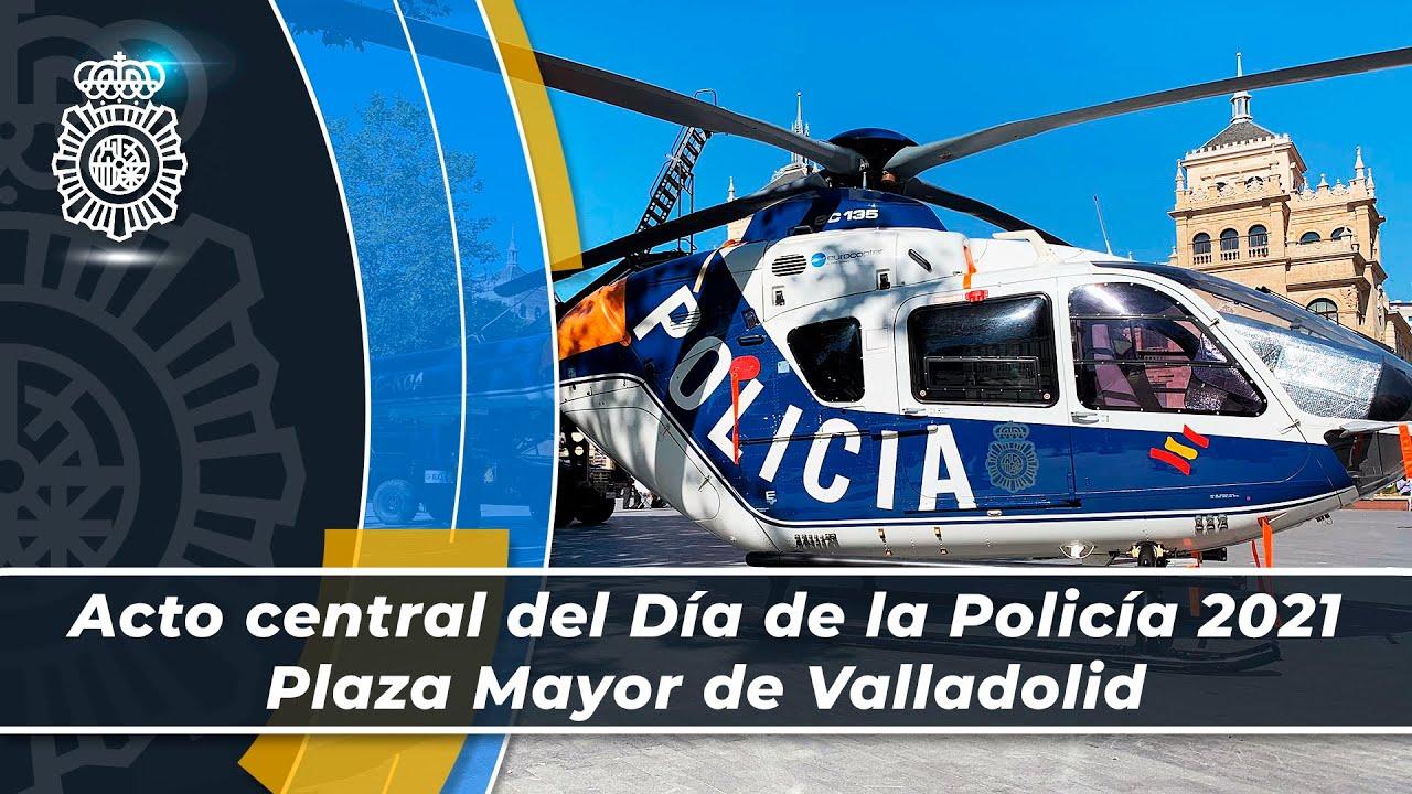 El ministro del Interior preside el Acto Central del Día de la Policía que se celebra en Valladolid