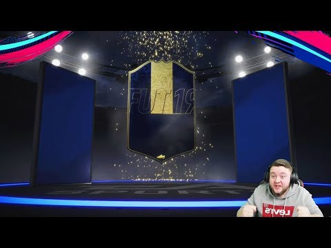 TOTY IN A PACK! ELITE 1 FUT CHAMPIONS REWARDS! FIFA 19 ULTIMATE TEAM thumbnail