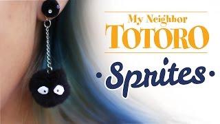 Sprites Earrings - Totoro - DIY GG