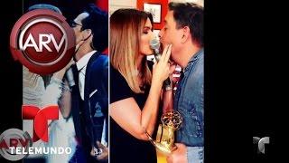¿Qué hay detrás del beso entre Marc Anthony JLo? | Al Rojo Vivo | Telemundo