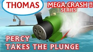 Percy Takes the Plunge | Thomas and Friends Roblox Accidents will Happen