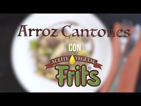 Receta Arroz Cantonés - Frits 100% Soya