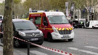 Accident mortel : une fille tuée par un engin de chantier (12 octobre 2018, Champs-Elysées)