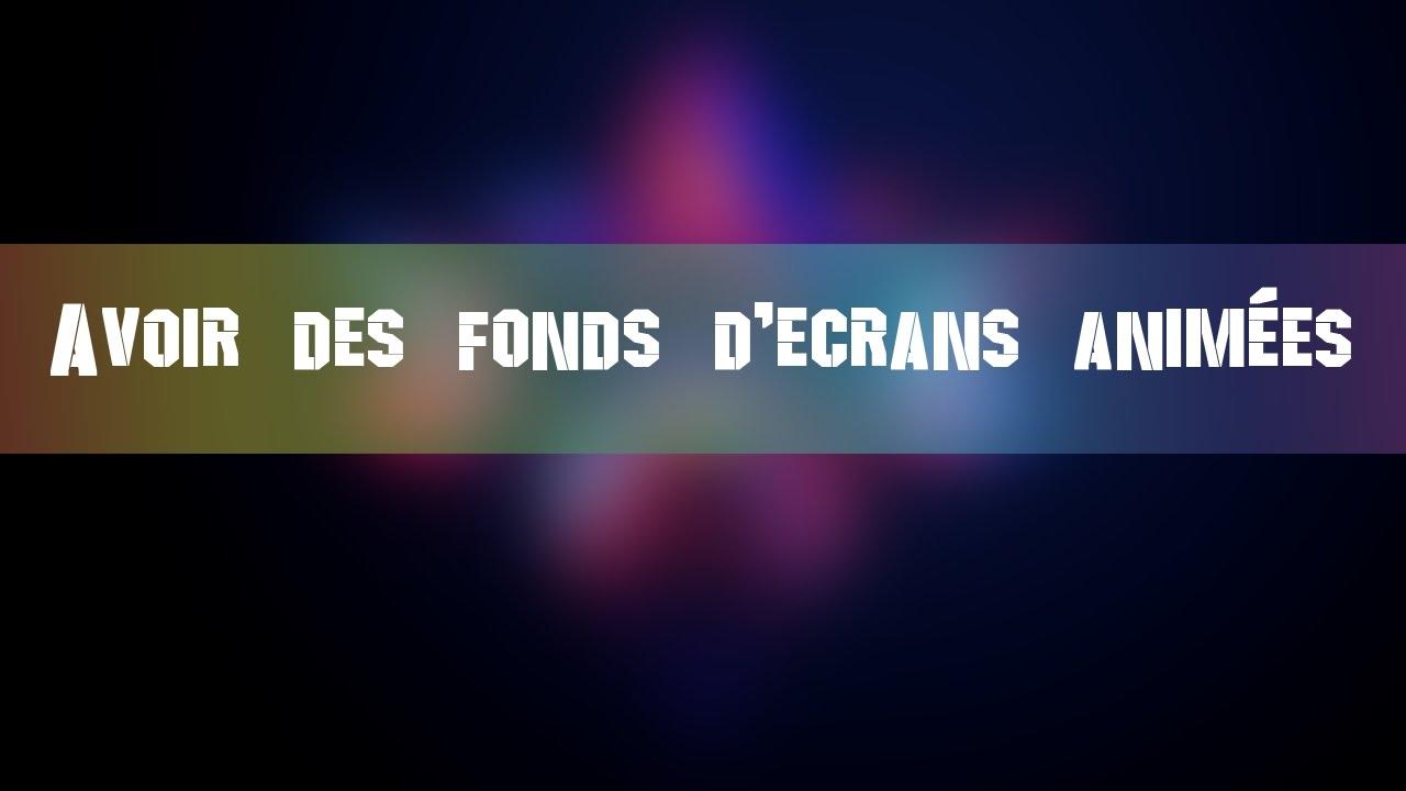 Avoir Des Fond D Ecrans Animee Wallpaper Engine Youtube