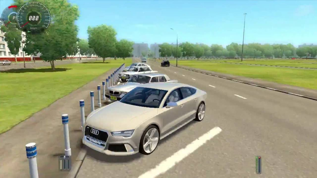 city car driving 2.2.7 - audi rs7 sportback - youtube