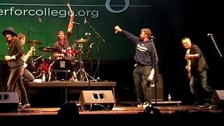 [multicam] - Will Ferrell, Chad Smith, Brandi Carlile, Stefan Lessard, Mike Mccready, Duff - 9/19/14