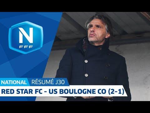 J30 : Red Star FC - US Boulogne (2-1), le résumé