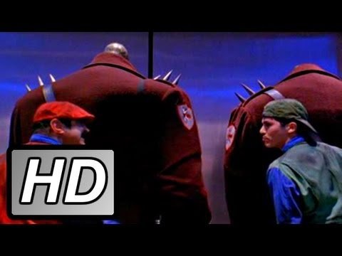 Goombas In The Elevator Super Mario Bros 1993 Movie Clip