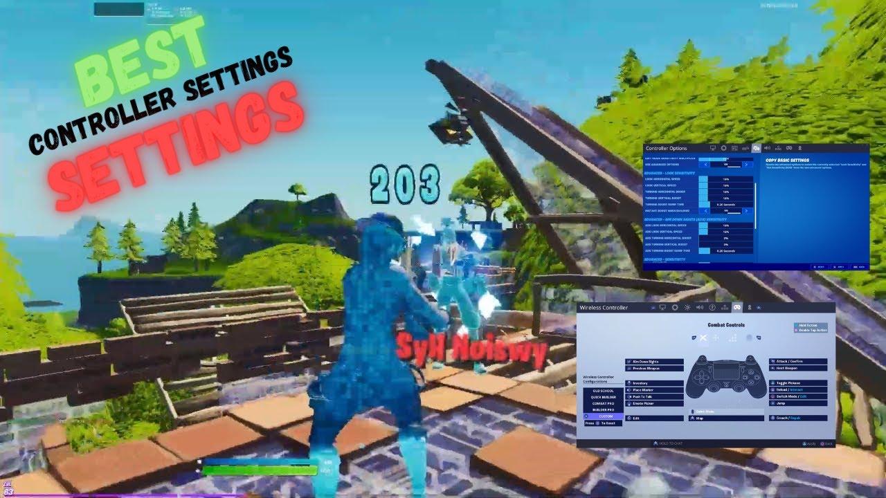 New *BEST* Controller Fortnite Settings/Sensitivity LINEAR *AIMBOT* - Season 6 Settings - Xbox/PS5🌟🎮