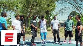 Playing basketball with the Oakland Raiders | Hang Time with Sam Alipour | ESPN Archives