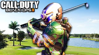 PLAYING GOLF ON BLACK OPS 3! (Funny Moments)