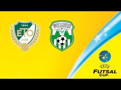 Győr - Minsk | UEFA Futsal Cup | Live Stream