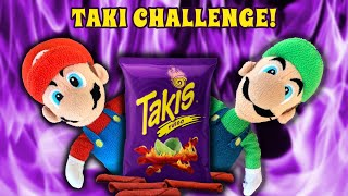 takis and hot cheetos challenge