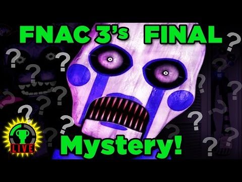 Solving FNAC 3's FINAL MYSTERY   Five Nights at Candy's 3 (Part 3)