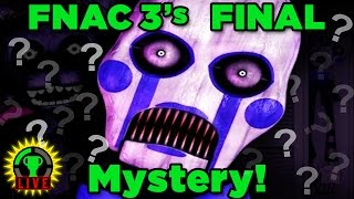 Solving FNAC 3's FINAL MYSTERY | Five Nights at Candy's 3 (Part 3)