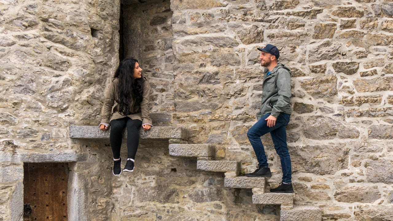 STARTING OUR IRELAND ROAD TRIP + CAMPER VAN TOUR!