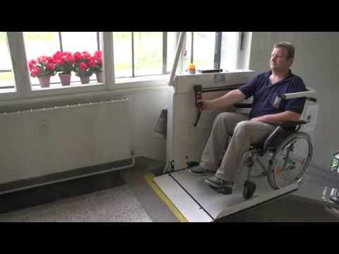 Plattformlift für Rollstuhl innen und aussen   Meico - 062 858 67 00
