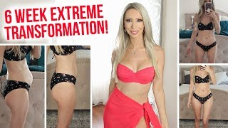 I Tried the Victoria's Secret Model Diet & Workouts for 6 WEEKS!