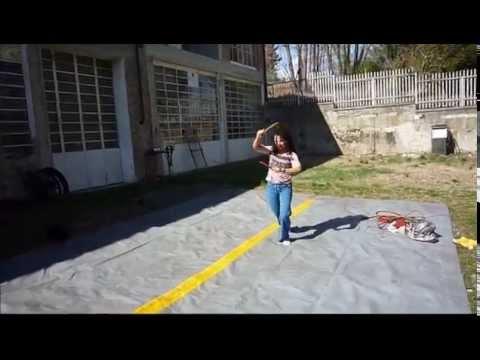 Woman Warrior Knife And Bullwhip Filipino Fighting Whip Latigo Y Daga Youtube
