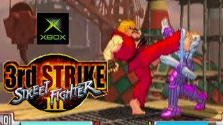 Street Fighter III 3rd Strike playthrough (Xbox)