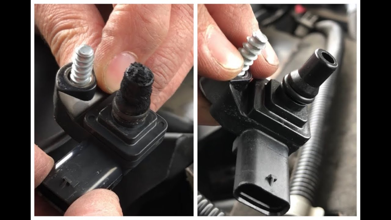 BMW 530d N57 engine clogged MAP sensor replacement