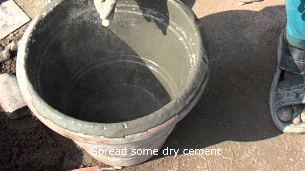 Story Of Concrete Flower Pot Youtube