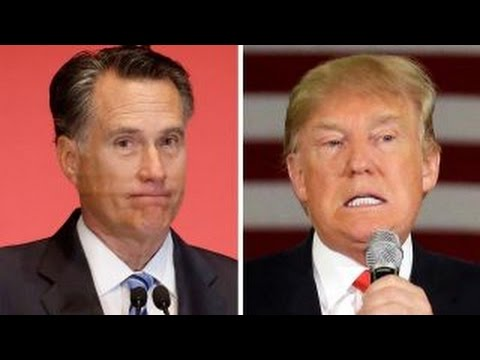 Mitt Romney confirms he will not vote for Donald Trump