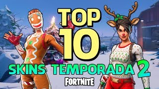 FORTNITE-TOP 10 SKINS DE SEASON 2!