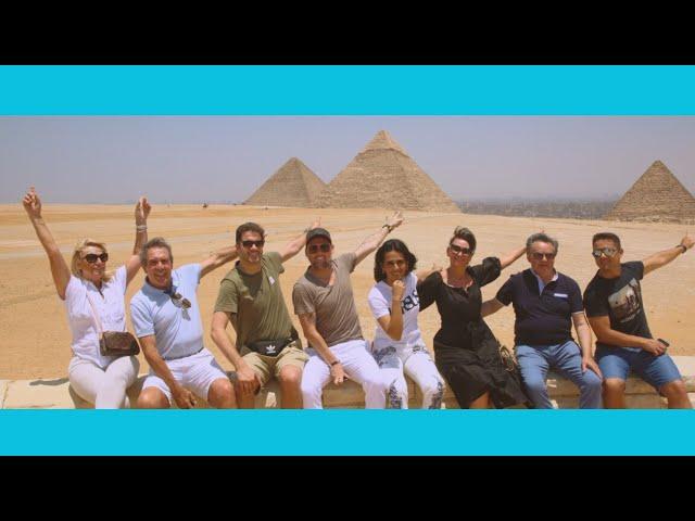 SATUC's ambassadors visit the pyramids