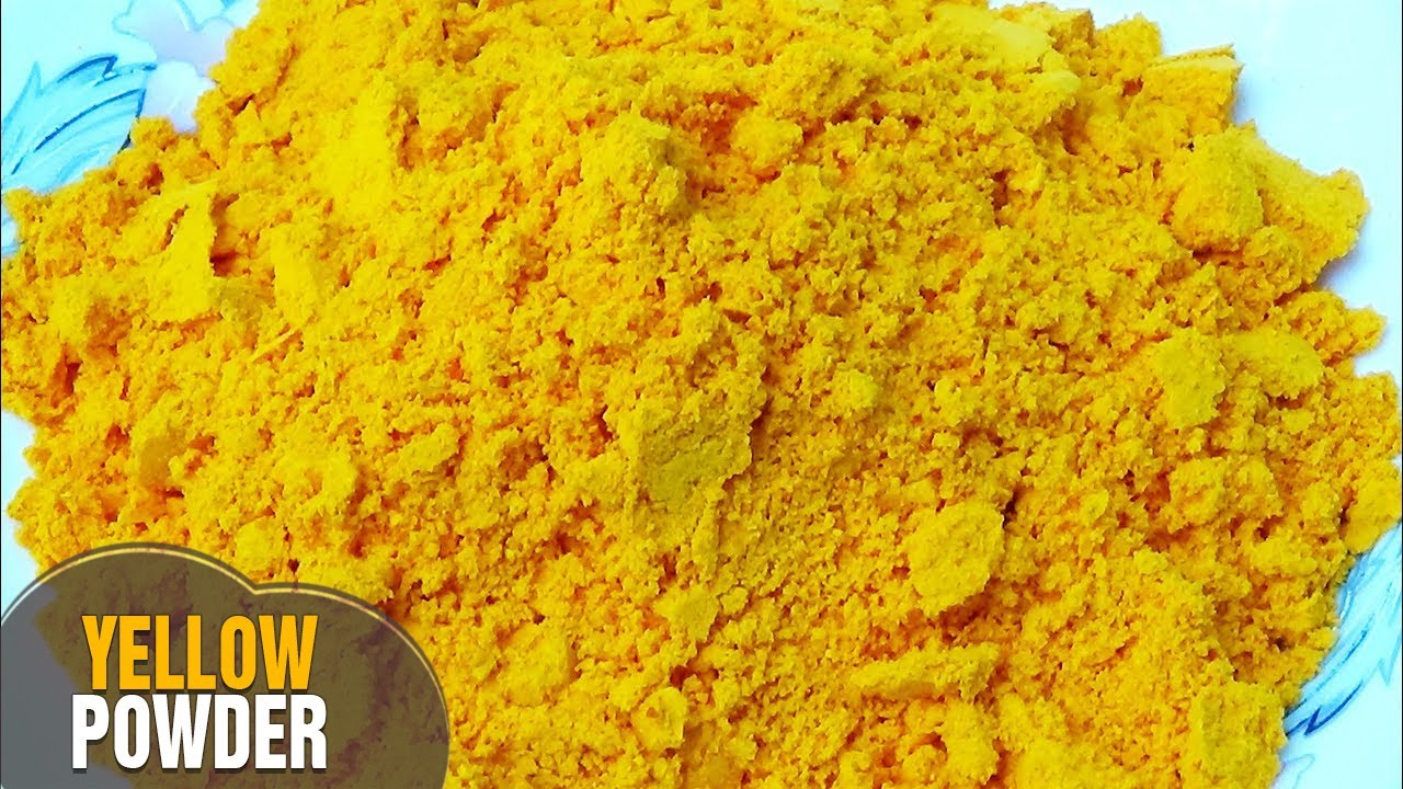 how to make natural herbal organic colours at home for holi yellow powdergulal by lathachannel youtube - Yellow Home 2016