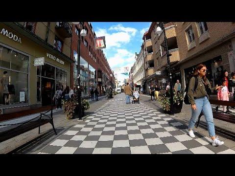 Walk In Örebro City II, Sweden Shoppingstreets