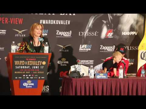 (WOW!!) - 'SHUT UP!' - KATHY DUVA GOES CRAZY AND SOUNDS OFF AT NON-MEDIA IN PRESS CONFERENCE