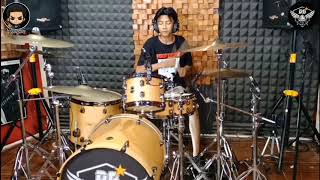 NIBRAS ROMERO STAND HERE ALONE JAV (drum cover)